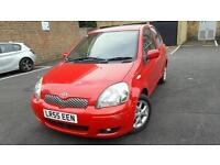 2005(55 reg)TOYOTA YARIS 1.4 DIESEL MANUAL 11 STAMPS F/S/H IN EXCELLENT CONDITION