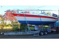 "26"" ETAP Yacht with trailer"