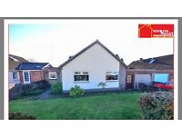 4 bed detached bungalow Kilsyth. New windows, new boiler, completely rewired