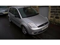FORD FIESTA 1.4 FINESSE 5 DOOR WITH 6 MONTHS MOT