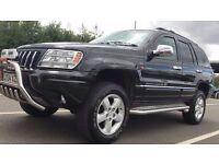 2004 | Jeep Cherokee 4.7 V8 Overland | Auto | Petrol | 3 Former Keepers |Main Dealer Service History
