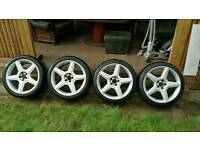"19"" Mercedes AMG alloy wheels & tires"