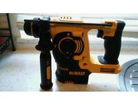 Brand new dewalt sds with battery and heavy duty dewalt charger makita