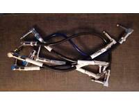 Patch Cables for Electric Guitar Pedals