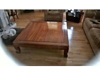Large Rosewood coffee table for sale