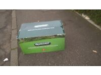 Qualcast Corded Hover Mower 1600W And Trimmer 320W - still in box