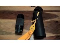 Miranda 75-300mm telescopic lens for 35 mm cameras