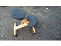 Kneeling Chair Wood ONLY 19 £