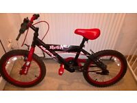 Huffy 18 Inch Kids Bike - Suitable for ages 6 years and over - Kids Bicycle