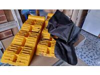 Pair of Milenco Levelling Blocks for Motorhome or Caravan