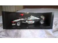1 : 18 scale Paul Model Art West Maclaren Mercedes Formula One model car