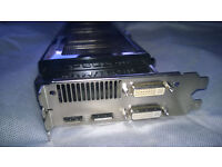 Gainward Nvidia GTX570 Phantom 1280M Gddr5 Dual-DVI HDMI Display Port Video Card