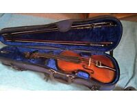Violin - in good playing order, recently restrung and new bridge