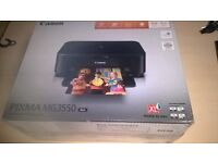 Canon Pixma MG3550 All-in-One Printer (Print, Scan, Copy, Wi-Fi and Air Print) - Black