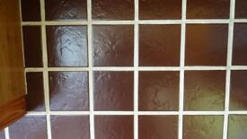 Wall Tile Brown 110 x 130 3 sq metres