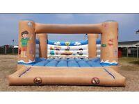 18ft x 18ft Seaside commercial bouncy castle
