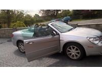 Chrysler SEBRING 3 door hatchback convertible silver diesel