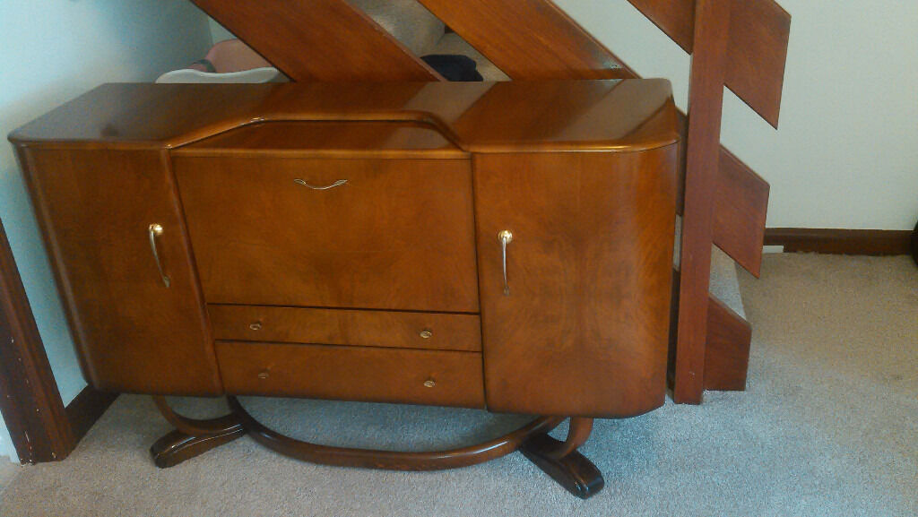 1950 S Beautility Sideboard Cocktail Cabinet Mid