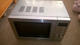 Tesco's Silver Combination Microwave Oven & Grill 800 Watts