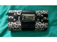 Leopard print purse