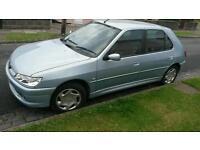 Peugeot 306 petrol 1.4 11 month mot