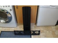 Alphason Chromium TV unit bracket