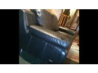 Stylish leather sofa can deliver