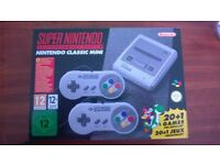 SUPER NINTENDO ENTERTAINMENT SYSTEM BRAND NEW