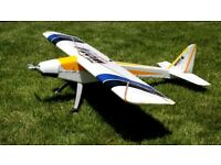 RC Plane..... Wot - 4 Foamie with Night flying LEDs.