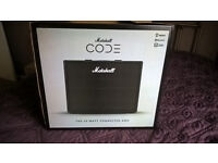 Marshall Code 50 Guitar Amp with optional foot controller