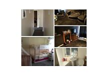 To EXCHANGE Beautiful two bedroom flat/cottage with own garden