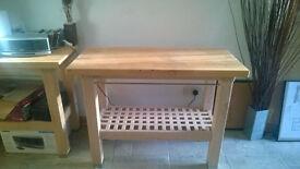 IKEA BUTCHERS STYLE TABLE