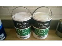Crown emulsion egyptian cotton colour 9l