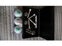 BNIB Dalmahoy box set Golf items, also 3 Golf balls