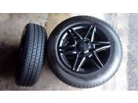 "4x100 14"" Alloys with New 175/65/14 Tyres"