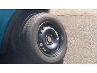 Continental Tyre. 13 inch. Hardly used and in excellent condition.
