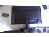 PHILIPS 243V LED HD MONITOR, 24 Inch DISPLAY, FULLY WORKING CONDITION, CRYSTAL CLEAR PICTURE.