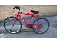 Used mountain push bike in good working condition for urgent sale