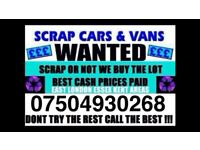 ☎️ We buy cars vans for cash any condition buy my scrap sell your fast