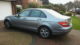 Mercedes C180 auto SE petrol, Sept.2013 . Very low mileage (11,500). 1 owner from new-Immaculate