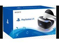 PlayStation 4 VR & camra £300