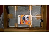 NRF coolant radiator for BMW 5 e39 and 7 e38