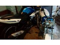 Monkeybike skyteam new stomp 140 engine also have sinnis sp 125 swap why slr650