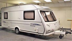 2006 ELDDIS AVANTE 505 FIRESTORM, 5 BERTH (COULD MAKE FIXED BED), LIGHT WEIGHT, WINTERHOFF STAB!
