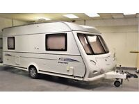 2006 ELDDIS AVANTE 505 FIRESTORM, 5 BERTH (COULD MAKE FIXED BED), LIGHT WEIGHT, WINTERHOFF STAB!