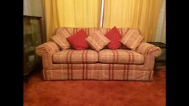 Immaculate two seater and Three Seater Sofas - Immediate collection requires - Best offer