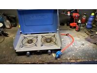 double burner camping stove