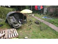 Complete 3 rod carp set up everything you need