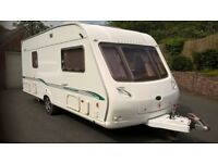Bessacarr Cameo 535 SL. Fixed bed. 2005. 4 berth Caravan