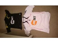 football shirts excellent condition